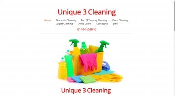 Unique 3 Cleaning