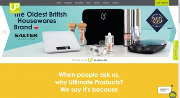 Ultimate Products | Home of Brands