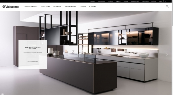 Valcucine | Modern and Fitted Designer Italian Kitchens