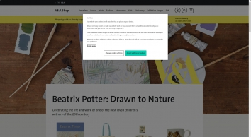 V and A Shop