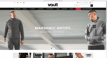Vault Menswear | Mens clothing | Mens Designer Clothing