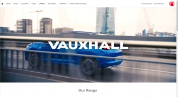 Vauxhall Official Site™ | New Cars | Used Cars | Vans