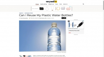 Is It Safe to Reuse My Bottled Water Bottle? - Verywell Fit