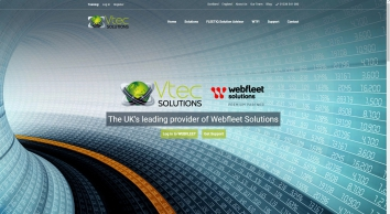 Vehicle and Fleet Tracking Scotland UK | Fleet Management Software - Vtec