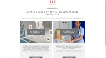 Wandsworth Group | Premium British manufacturer established in 1904