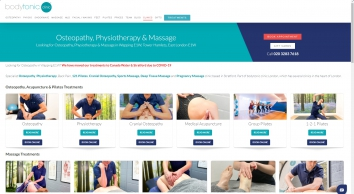 Wapping Osteopathy - Back Pain And Sports Massage Clinic