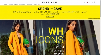 Warehouse | Mid-Season Sale Now Up To 50% Off