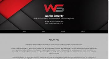 Warlite Security Ltd