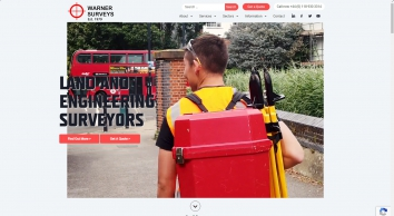 Warner Surveys - Topographic and Engineering Surveyors