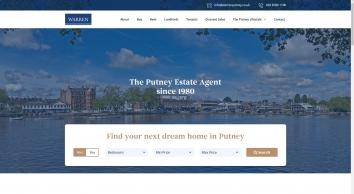Warren Residential Sales Lettings, Putney