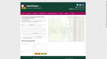 Estate Agents Gwerthwyr Tai - Warriners