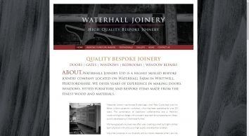 Waterhall Joinery Ltd
