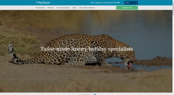Luxury Tailor Made Holidays to Africa & Asia with Wayfairer Travel