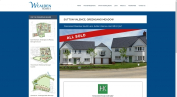 Sutton Valence, Greensand Meadow | Wealden Homes