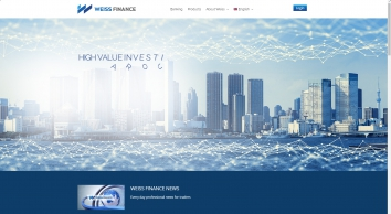 CFD and Cryptocurrency Trading | Weiss Finance Online Trading