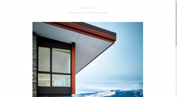 WELCH|HALL architects