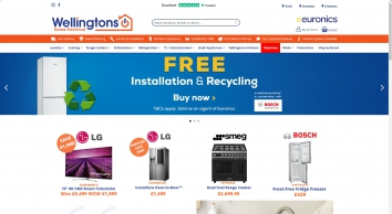 Wellingtons Electrical | Home | Euronics | Erith | Bromley | Laundry | Cooking | Range Cookers | Dishwashers | Refrigeration | Television | Small Appliances | Kitchens