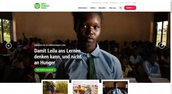 Für eine Welt ohne Hunger und Armut - Welthungerhilfe