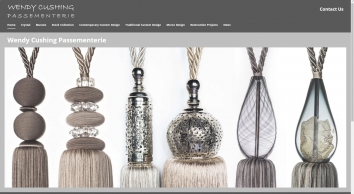 Wendy Cushing Designs Passementerie - experts in Historical, Bespoke Trimmings and Accessories including Woven Fringes & Tassels