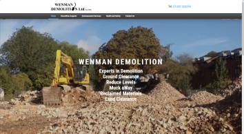 Home | Wenman Demolition