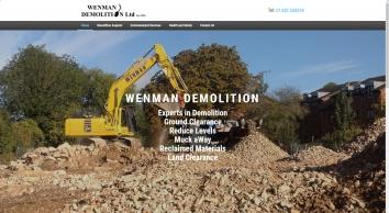 Home | Wenman Demolition
