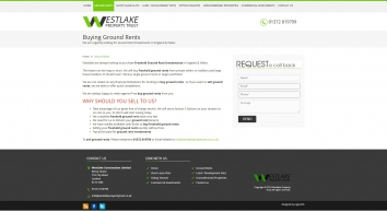 Sell Ground Rents - Westlake Property Trust