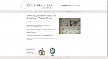 West Sussex Clocks