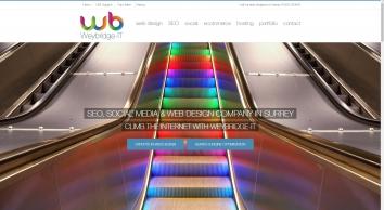 Web Design Company in Surrey with SEO Expertise - Weybridge-IT