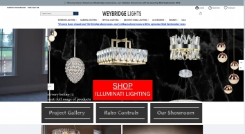 Weybridge Lights | Lighting Shop Surrey | Designer Lighting