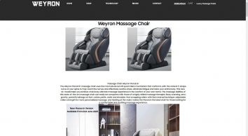 Weyron UK Official Store / Authentic Weyron Massage Chairs / UK Store