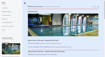 Whitworth Swimming Baths and Fitness Centre - Whitworth, Rochdale and Rossendale - Lancashire