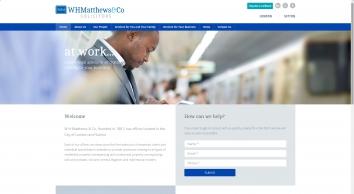 W H Matthews