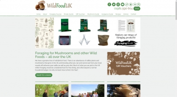 Wild Food UK, foraging courses, mushroom foraging courses, wild food guides,