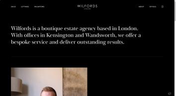 Wilfords Estate Agents London, Kensington, Notting Hill & Chelsea