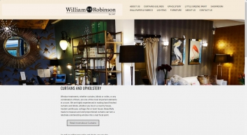 William Robinson Interiors supply wallpaper, fabrics, paint and more - William Robinson