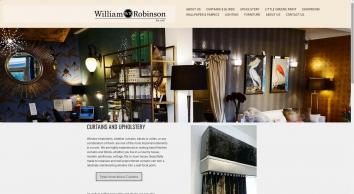 William Robinson Interiors supply wallpaper, fabrics, paint and more - William Robinson