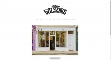 Wilsons Restaurant | Bristol | An English Bistro