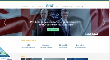 WindEurope - the voice of the wind energy industry