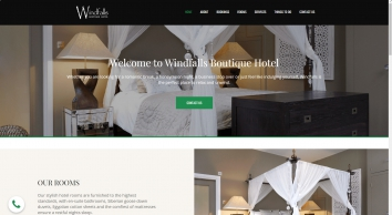 Windfalls Boutique Hotel - Romantic Hotel in Worth, West Sussex