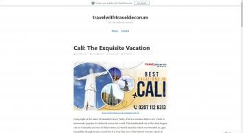 Cali: The Exquisite Vacation – travelwithtraveldecorum