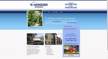 W J Nicholson Chartered Architect & Garden Design