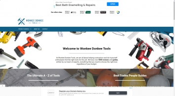 Wonkee Donkee Power Tools and DIY Tools