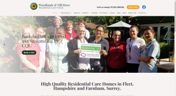 Care Home in Fleet, Surrey and Hampshire