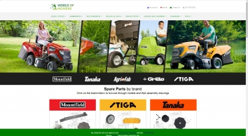 World Of Mowers, ATV\'s, Quads & Tractors