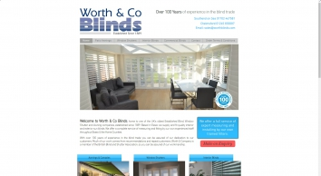 Worth & Company Blinds