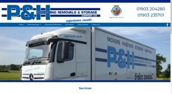 Worthing Removals & Storage Co P & H Ltd