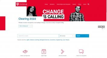University Of Leicester / Colin Brooks Abipp
