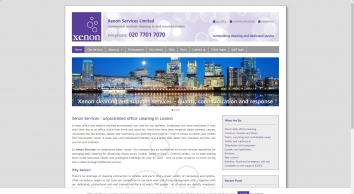 Xenon Services Ltd - Office Cleaning London
