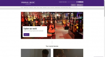 Yamaha Music London - Yamaha\'s UK Store
