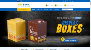 YBY Boxes Australia offers full customization options for custom packaging & custom printed boxes at wholesale rates